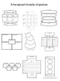 9 FREE Graphic Organizers for Narrative, Opinion, Informative writing!