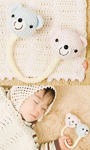Ravelry: 28-BK1 Baby Rattle pattern by Pierrot (Gosyo Co., Ltd)
