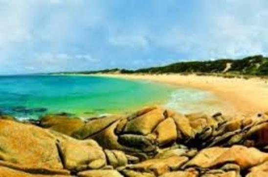 Beach in Marlo