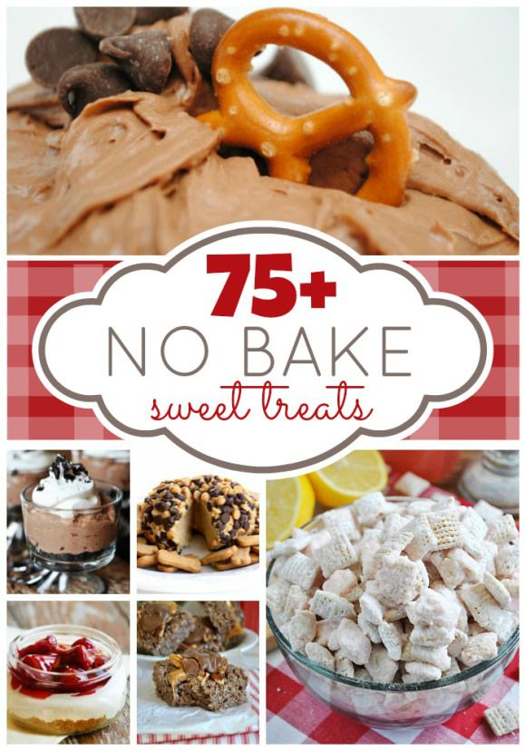 Over 75 No Bake Desserts from your favorite bloggers! PERFECT for summer time. | www.somethingswanky.comHealth Desserts, Recipe, No Bake Desserts, Sweets Treats, Sweet Treats, No Baking Desserts, Healthy Desserts, Baking Sweets, Summer Time