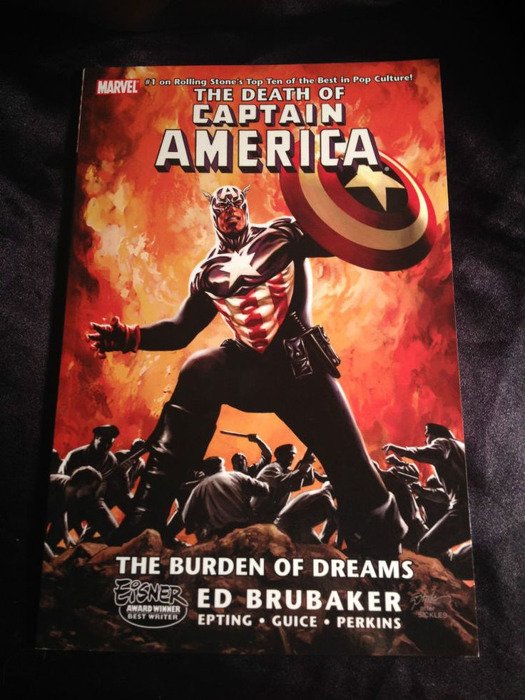 The Death of Captain America vol 2: The Burden of Dreams. Marvel Graphic Novel