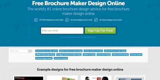 20+ Best Free Online Brochure Maker Tools