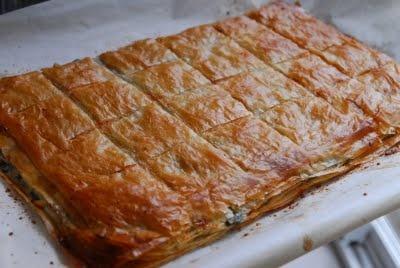 Greek Spinach and Feta Pie (Spanakopita)   Mmm...! Food!   Pinterest