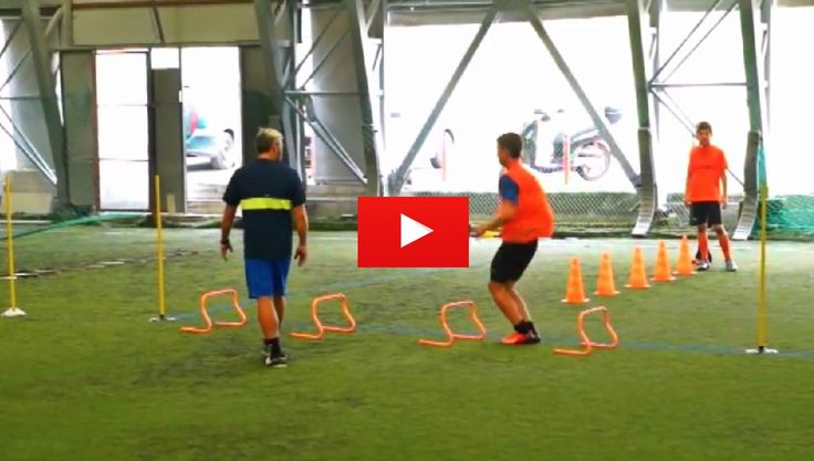 Soccer Agility Coordination and Ball Control Drills. The best videos and articles on the web for football coaches.