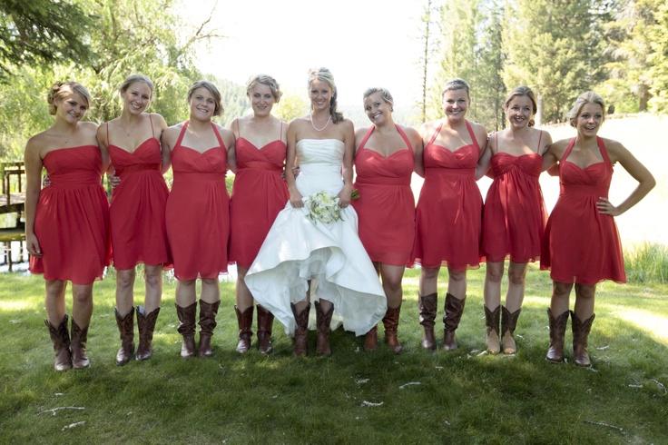 Red Western Wedding Dresses – fashion dresses