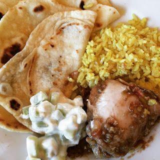 MI VAN ITTHON?: Kadai csirke delhi módra