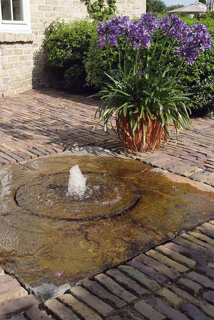 25 best ideas about patio fountain on pinterest garden for Recirculating water feature