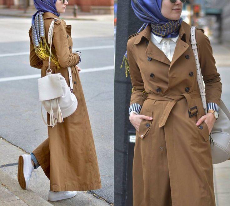 "30 Likes, 1 Comments - Zahra'a - زهراء (@zahraamoda) on Instagram: ""مدونة الفاشن التركية #إيليف The turkish fashionblogger @elifd0gan  #hijabi #fashion #style #moda…"""