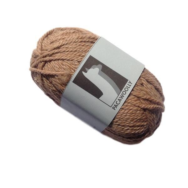 Pacawoolly Light Fawn, 100% Australian Alpaca, 8 ply, 50g - I Wool Knit