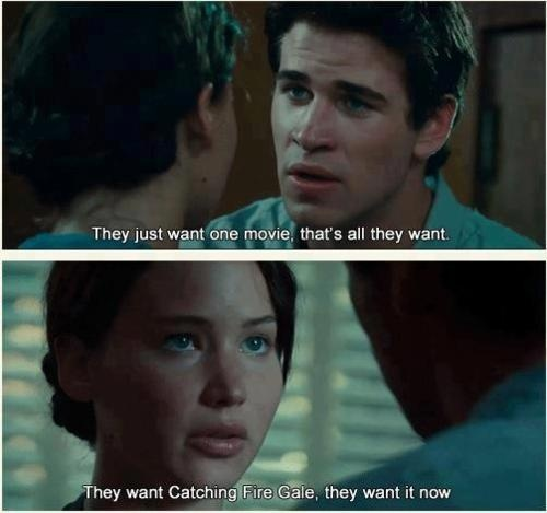 I'm with Katniss on this.