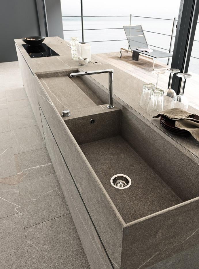 ... di Cucine, bagni e soggiorni moderni MODULNOVA - Progetto 07 - Foto 1
