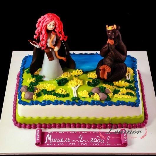 Торт храбрая сердцем
