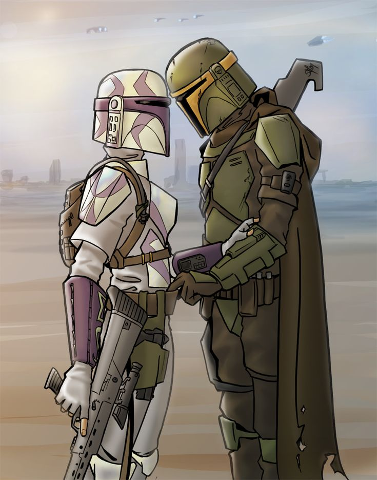 Female Mandalorian | numerous attacks on rivaling Mandalorians squads and the Death Watch ...
