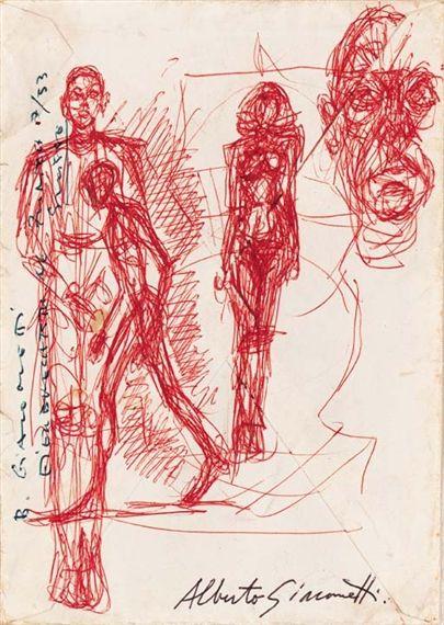 Alberto Giacometti (1901-1966)  'Etudes'