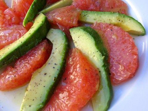 Avocado & Grapefruit Salad | original recipe by Ina Garten ~ made even Lighter and Healthier by Martha McKinnon