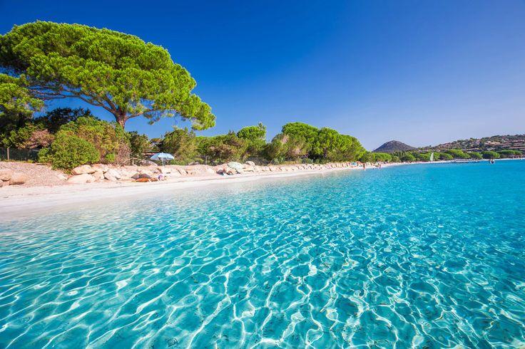 Pláž Santa Giulia, Korsika (Francie)