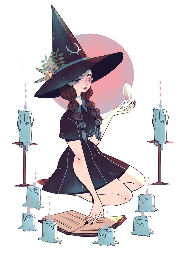 картинки арт ведьмочки ходе коллегиальных