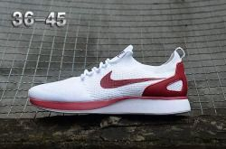 Top Quality Nike Air Zoom Mariah Flyknit Racer Red wine/White Men's/Women's Running Shoes Sneakers