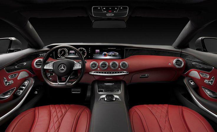 2015 S Class Mercedes Coupe Interior