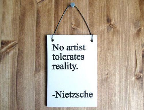 No-artist-tolerates-reality