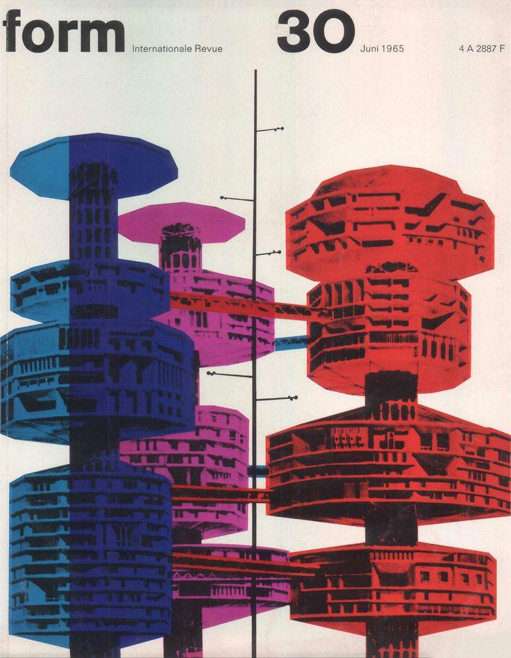 form N° 30. Jun 1965. Cover: Karl Oskar Blase. © Verlag form GmbH & Co. KG