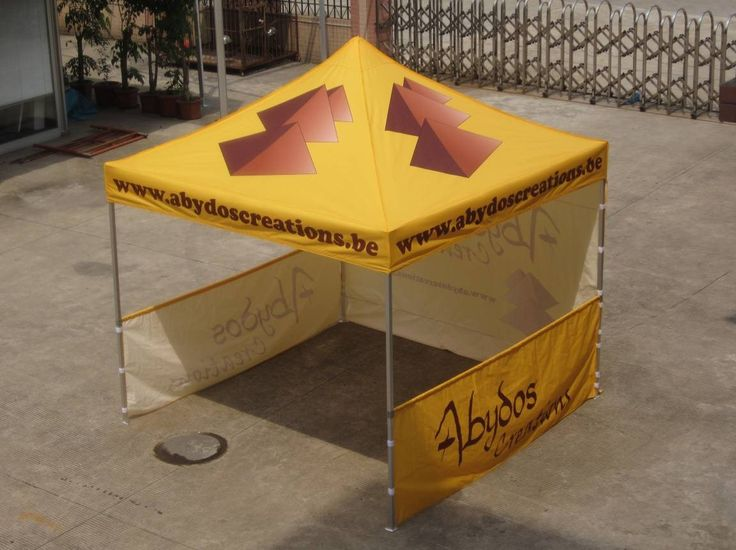 10×10 free design heat transfer printing pop up tent ,cheap outdoor canopy with side wall