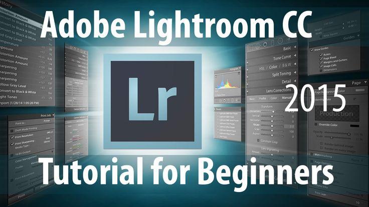 Adobe Lightroom CC Tutorial for Beginners - 2015