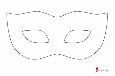 Maske Vorlage | Masken vorlagen, Masken basteln, Masken kinder