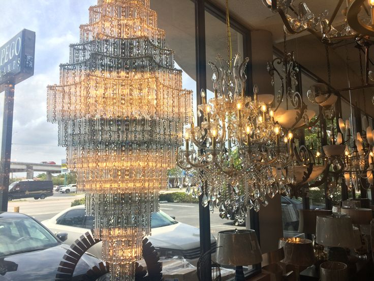 Lighting at Pego Lamps in Miami.