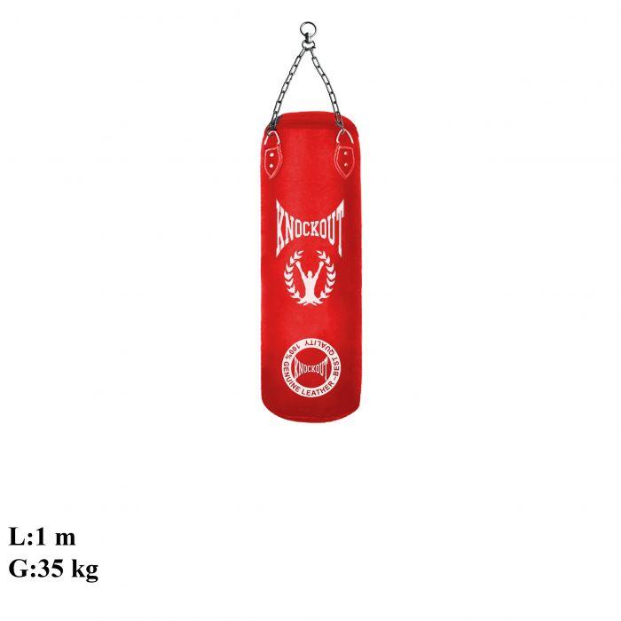 Sac de Box piele artificiala de calitate ridicata la preturi excelente https://www.knock-out.ro/echipamente/saci-de-box/sac-muay-thai-knockout-rosu.html