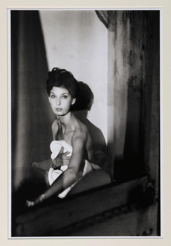 Portrait de Maria, Paris. Photo by Jeanloup Sieff, 1959