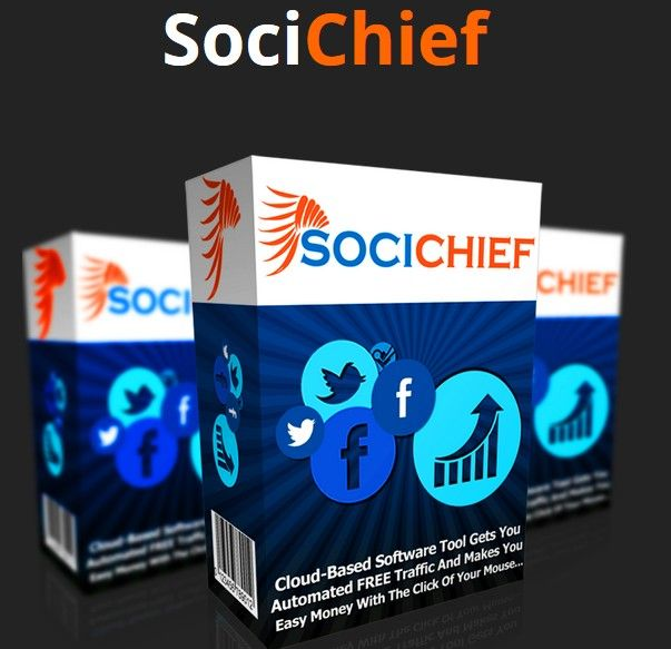 SociChief Facebook And Twitter Campaigns Software App by Ivana Bosnjak