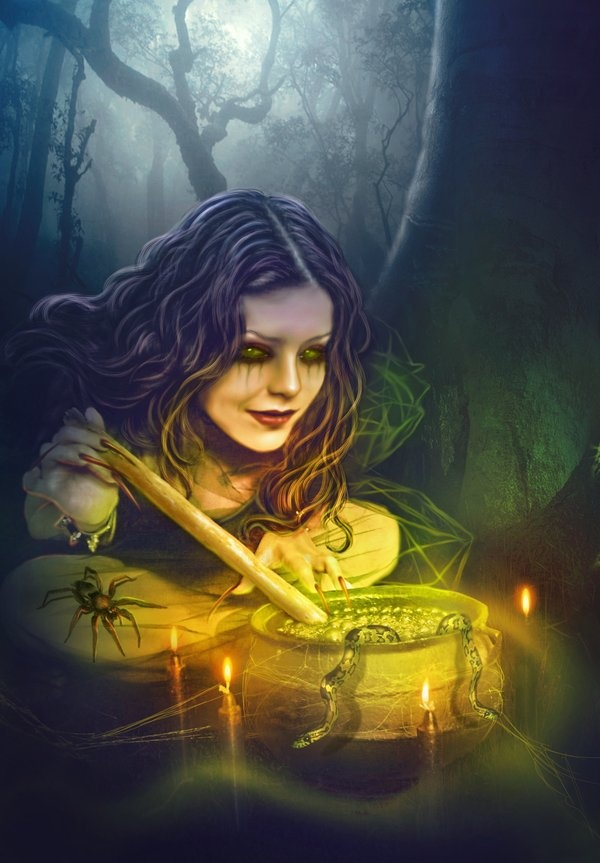 Witches brew, Witches and deviantART on Pinterest