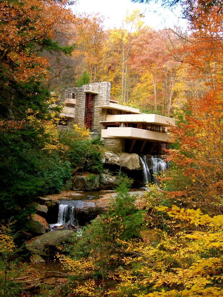 Frank Lloyd Wright - falling water
