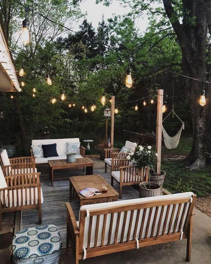 50 Diy Patio Area With Texas Lamp Posts Ideas En 2020 Deco Terrasse Exterieure Decor De Patio Terrasse Maison