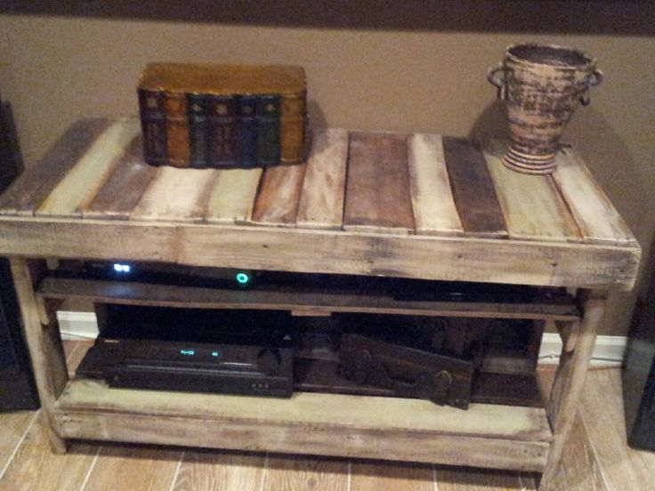 Pallet Entertainment Center