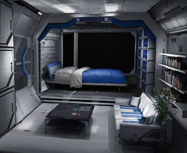 space shuttle living quarters - photo #37