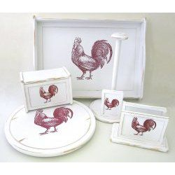 Rooster Kitchen Accessory Collection By Lipper