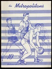 The Dayton Metropolitans was a professional basketball team in Dayton, Ohio. The team was one of the founding organizations of the National Basketball League, which formed in 1937. The Mets were founded in 1935 as a member of the Midwest Basketball Conference, where they played until joining the NBL in 1937