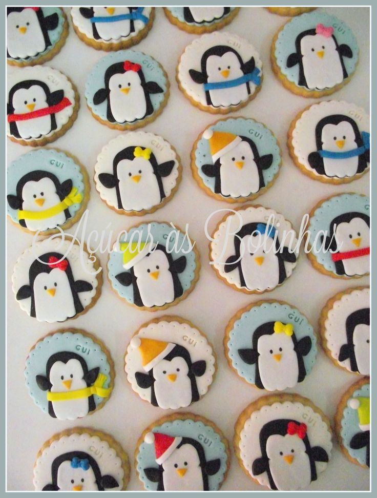 Pinguins cookies