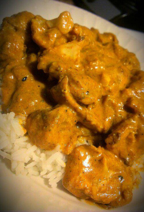 Chicken and Cauliflower Tikka Masala -serve over corn instead of rice ...