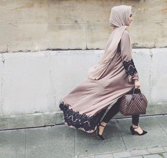Pinteres: @eighthhorcruxx. Open abaya