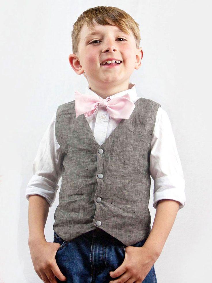 Boys Vest Sewing Pattern - BOYS VEST (P306)