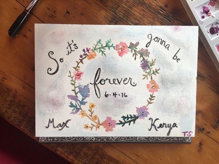 Taylor's wedding gift for Max and Kenya