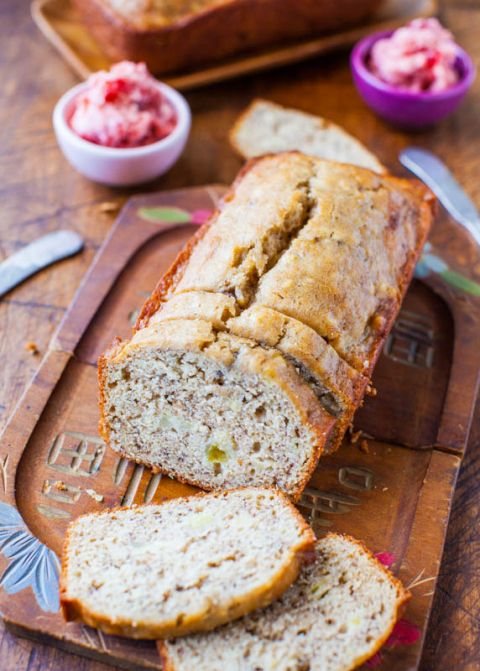 Withover40+ banana Bread and banana recipesI don't know why I've never incorporated cream cheese. I don't know what I was thinking because I was really missing out. The bread issoft, moist and thecream cheese layer is likehaving alayer ofcheesecake baked into banana bread. No complaints here. I had ripe bananas and cream cheese getting ready …