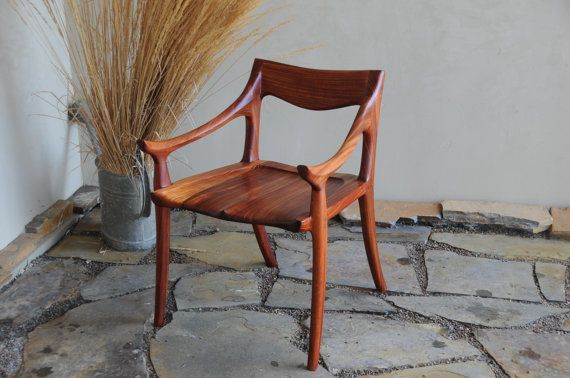 Beautiful. Maloof style Low Back Dining Chair by HennefordFineFurn on Etsy, $2500.00