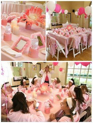 #spa party from www.partywishesscv.com