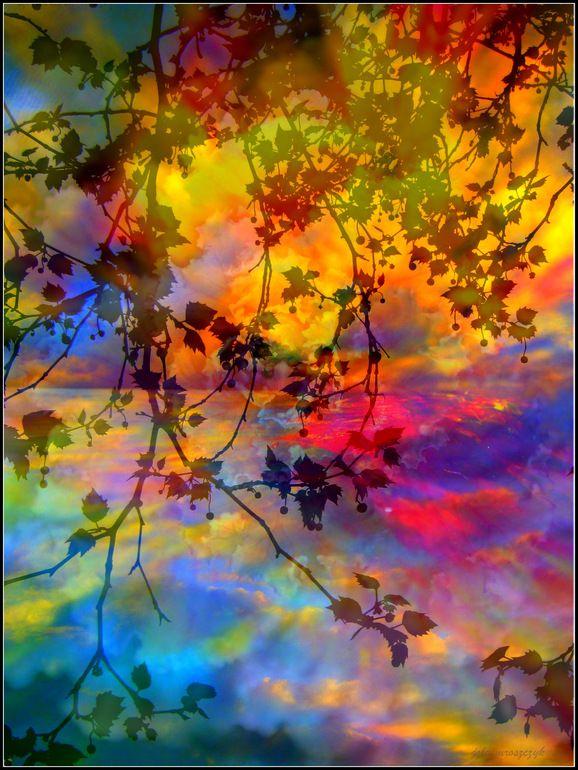 "Saatchi Art Artist: Yo La; Paint 2013 Collage ""So Far Away"""