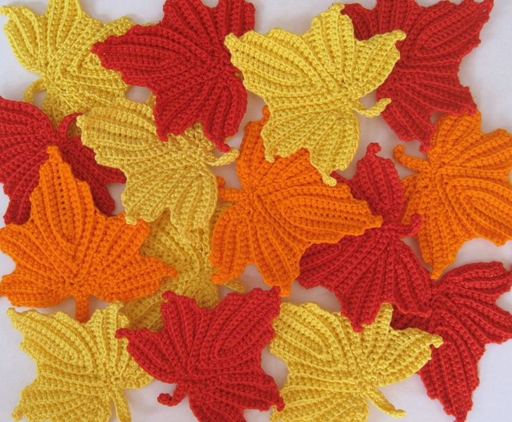 Free Crochet Pattern For A Maple Leaf : 1000+ images about Crochet Creations on Pinterest ...