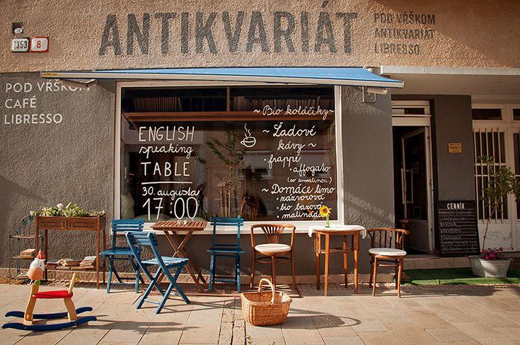 Libresso Pod Vŕškom - café & antikvariát Nitra